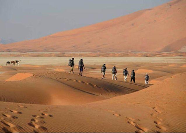 دراسة سعودية عمانية لاستحداث مسارات آمنة للطيران في صحراء الربع الخالي