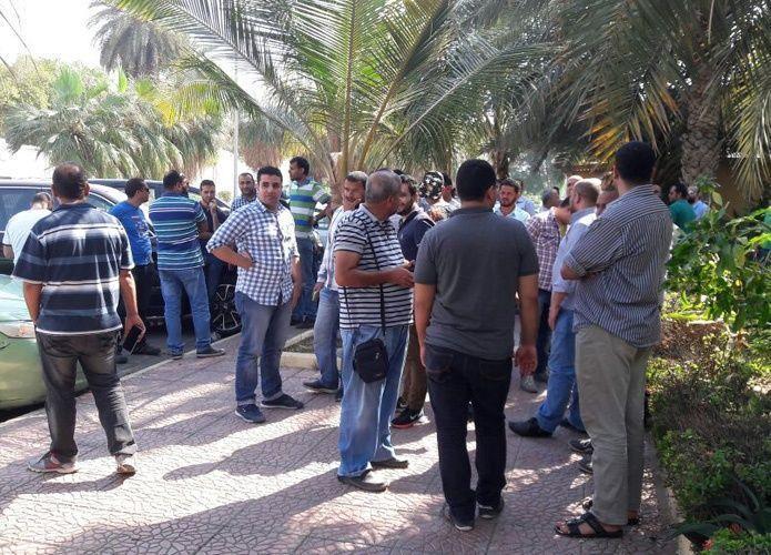 عاملون مصريون في مجموعة بن لادن يعتصمون لتأخر صرف رواتبهم منذ عام
