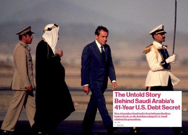 بلومبرغ: كيف أنقذ ملك سعودي اقتصاد الولايات المتحدة من الإنهيار