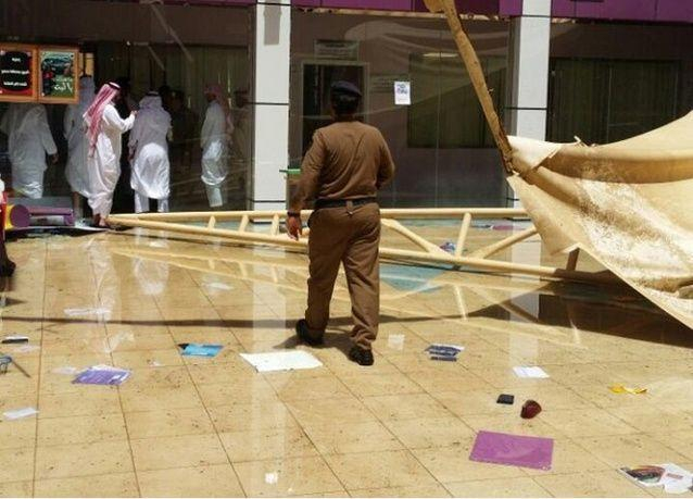 مصرع طالبة وإصابة 20 إثر انهيار مظلة داخل ثانوية