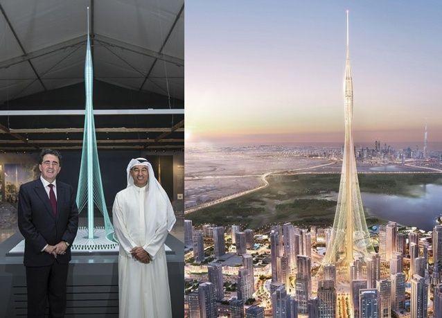 الكشف عن عناصر برج خور دبي المعمارية وتوقعات بأنه سيكون أعلى برج