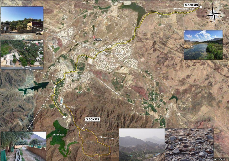 """دبي تنهي المرحلة الأولى من """"ممشى حتا """" بطول تسعة كيلومترات"""