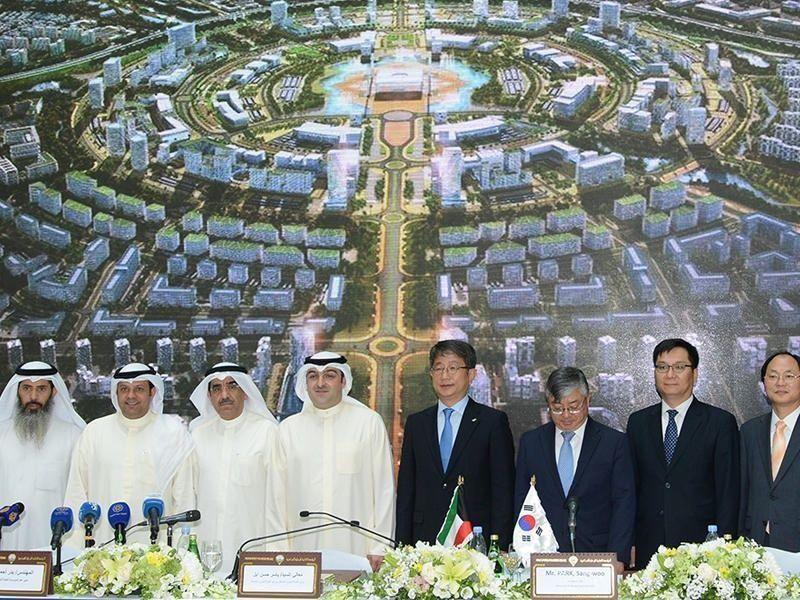 عقد بقيمة 12.5 مليون دينار، لإنشاء مدينة ذكية في الكويت