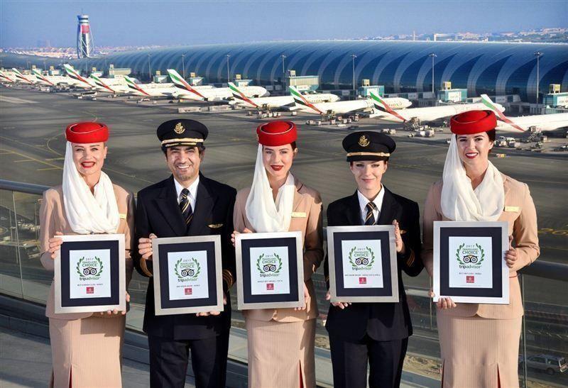 """طيران الإمارات تنال """"الأفضل في العالم"""" للناقلات الجوية 2017"""