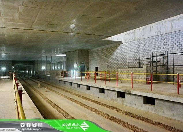 """أحدث صور محطات """"مترو الرياض"""""""
