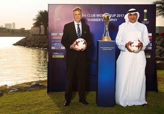 الكشف عن شعار كأس العالم للأندية -الإمارات 2017