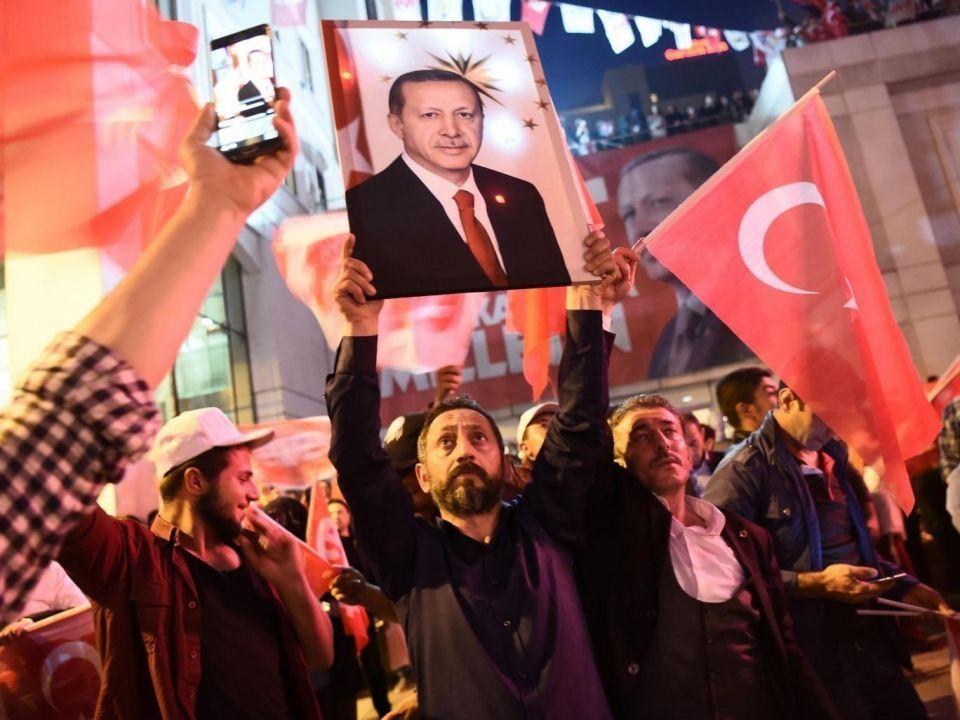 """تركيا تنتقل إلى نظام """"رئاسة تنفيذية"""" في أكبر تغيير في نظام الحكم في تركيا"""