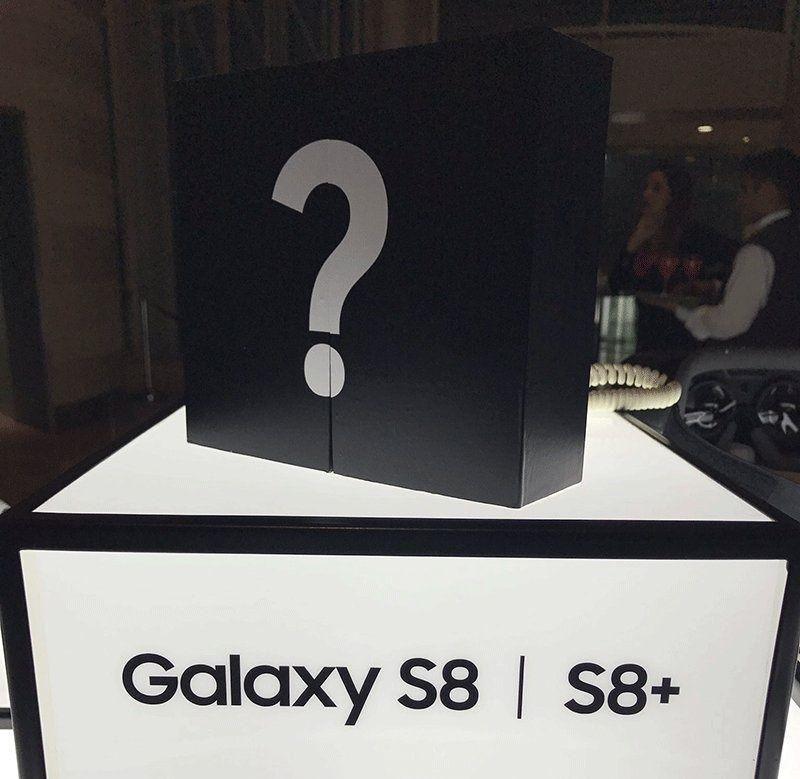 سامسونغ تطلق هاتفها الجديد غالاكسي إس8 في دبي
