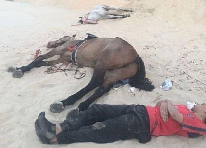 سارقو الرمال في السعودية يتسببون بموت متنزهي الصحراء