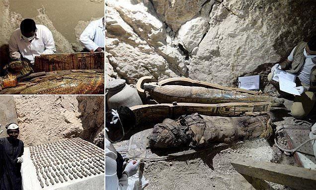 مصر: اكتشاف 6 مومياوات في مقبرة فرعونية قرب الأقصر