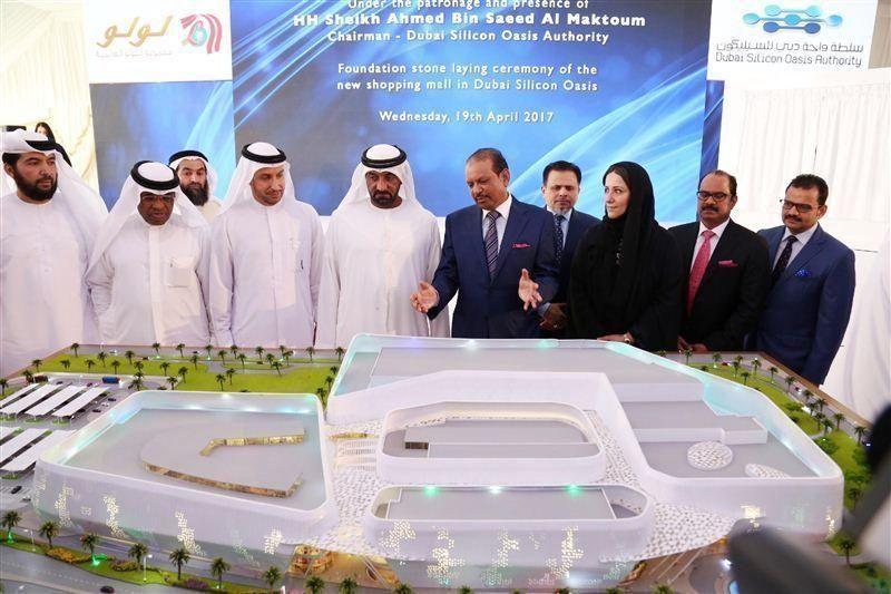 """وضع حجر الأساس لمركز """"سيليكون مول"""" في دبي بتكلفة مليار درهم"""
