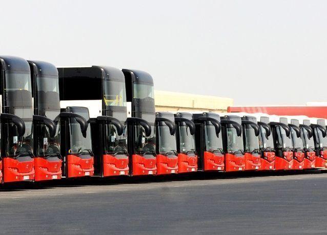 74 بالمائة نسبة التزام حافلات دبي بمواعيد الرحلات
