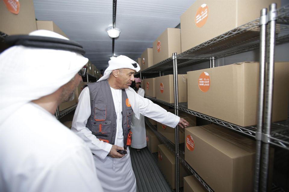 تدشين الموقع التشغيلي الأول لبنك الإمارات للطعام