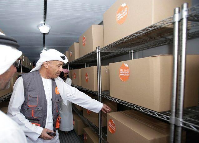"""افتتاح أول موقع لـ """"بنك الإمارات للطعام"""" في دبي"""