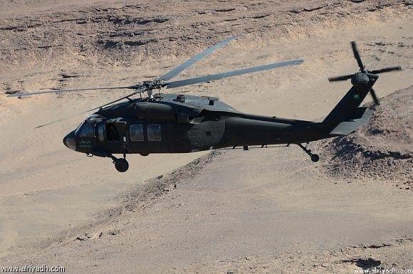 قيادة التحالف: استشهاد 12 عسكرياً سعودياً إثر سقوط مروحية في مأرب