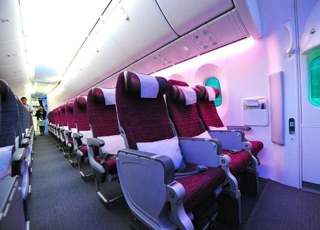 خطوط الطيران ذات أفضل مقاعد على الدرجة السياحية