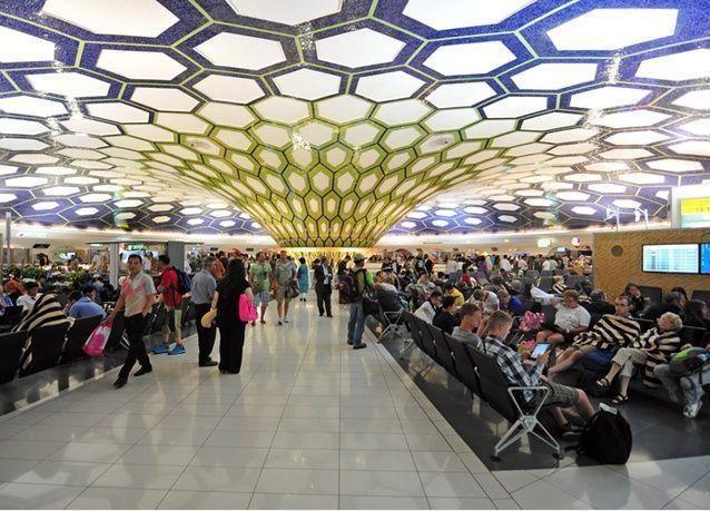 15 مليون مسافر عبر مطار أبوظبي في الربع الأول 2017