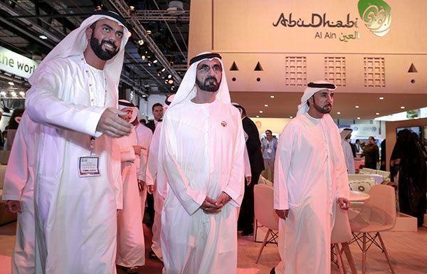 محمد بن راشد في معرض سوق السفر العربي:الإمارات تسير بخطى ثابتة نحو نهضة سياحية