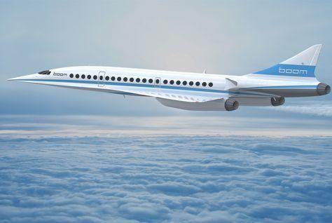 """بووم """"سوبر سونيك"""" تطير من دبي إلى نيويورك بسبع ساعات"""