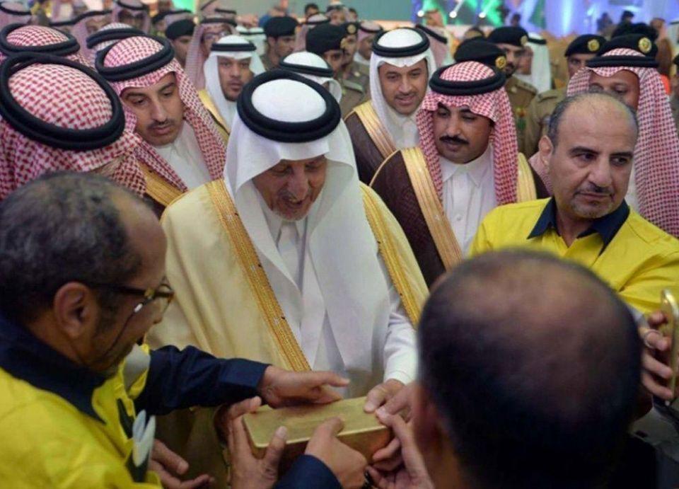 السعودية تدشن أكبر مناجم الذهب في المملكة