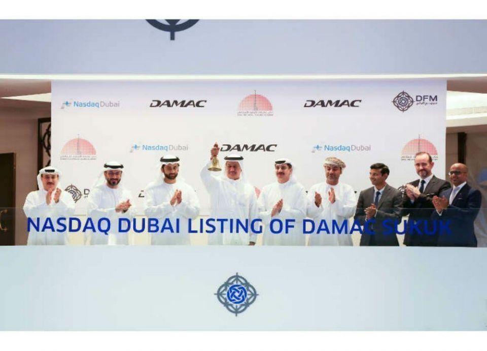 """""""داماك العقارية"""" تحتفل بإدراج صكوك بقيمة 500 مليون دولار أمريكي في ناسداك دبي"""