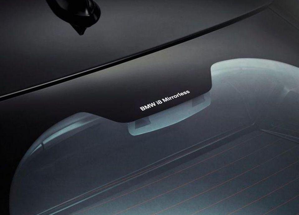 """بالصور : """"بي ام دبليو"""" تصمم سيارة بدون مرايا جانبية"""
