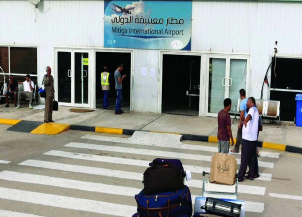 """""""الوفاق الليبية"""" توقف دخول 5 جنسيات عربية عبر مطار العاصمة"""