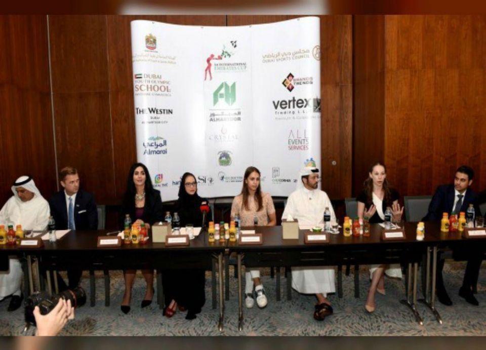 انطلاق كأس الإمارات للجمباز الإيقاعي غدا بمشاركة 370 متسابقة