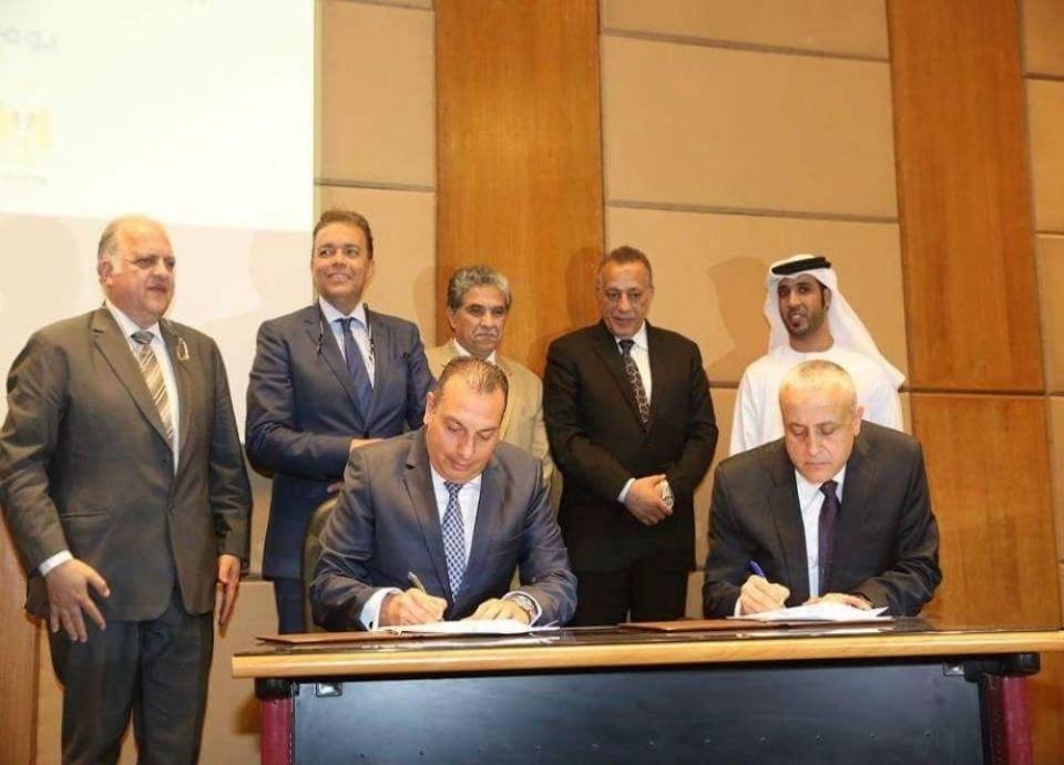 شركة إماراتية مصرية توقع عقد تشغيل 7 خطوط نقل عام ذكية
