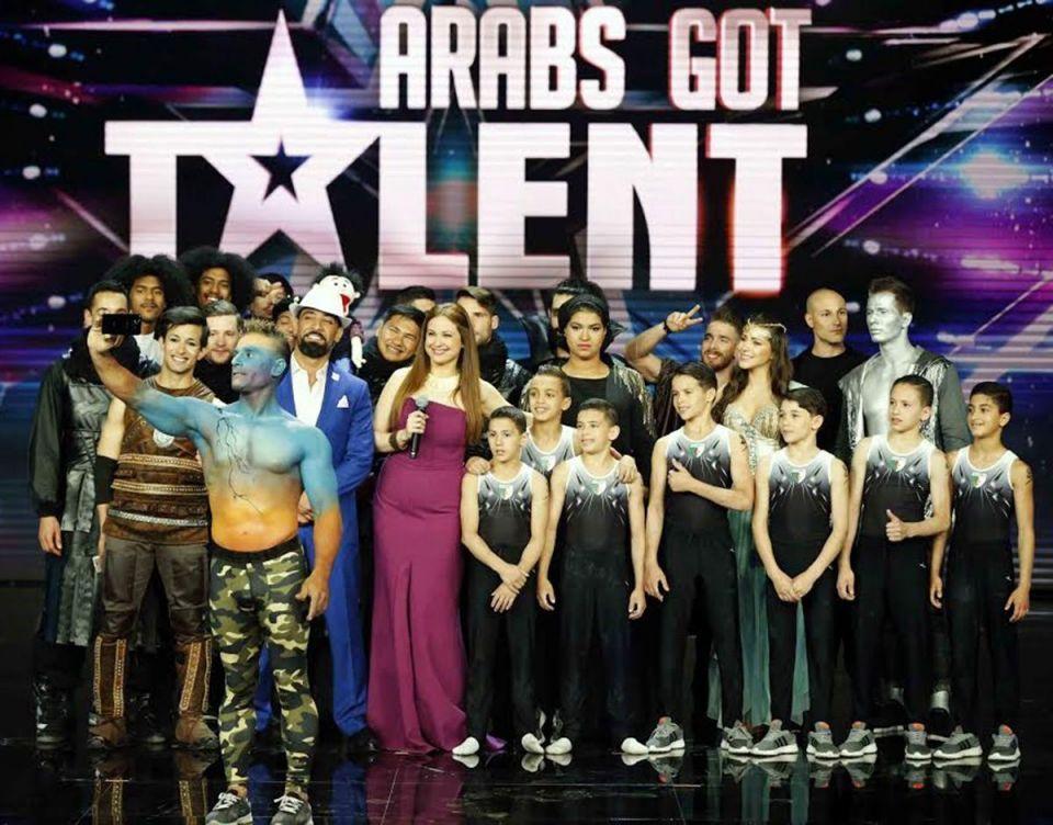 """بالصور : 10 مواهب تتنافس على اللقب ضمن الحلقة الختامية المقبلة من """"Arabs Got Talent"""""""