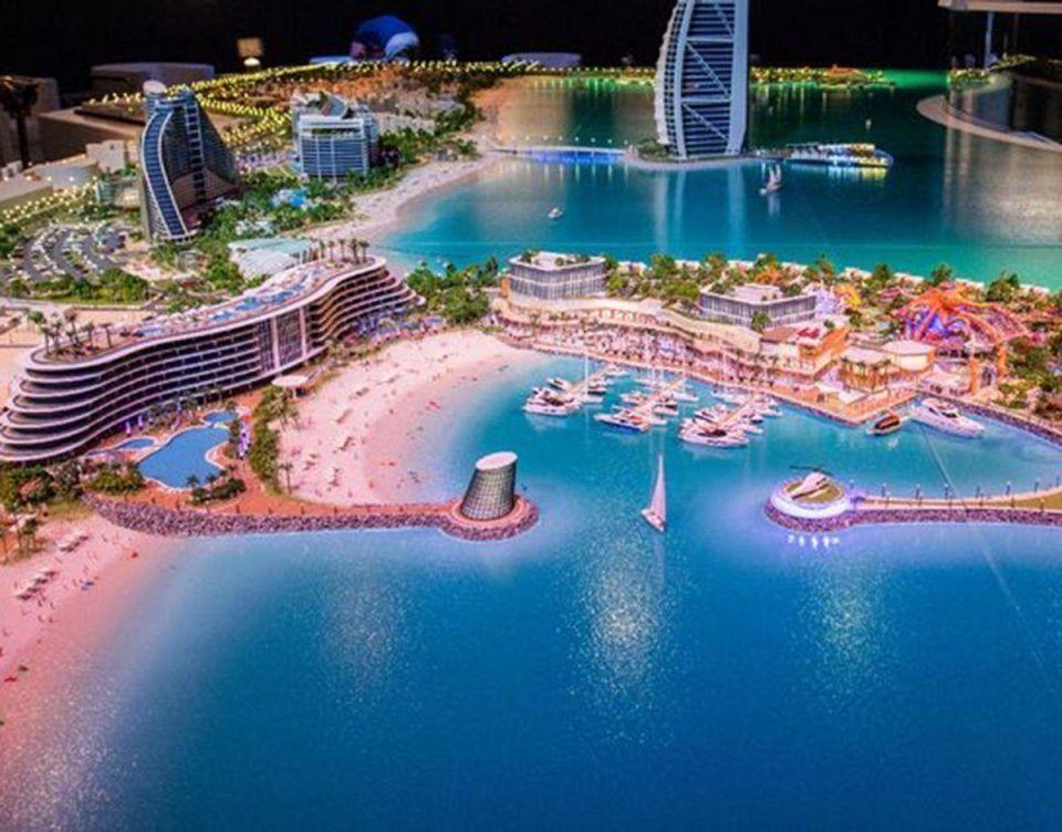 """بالصور : أحدث وجهة سياحية في دبي """"مرسى العرب"""""""