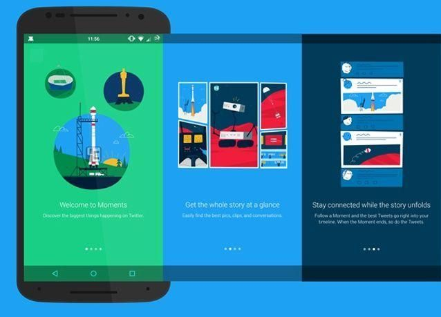 تويتر تطلق ميزة «اللحظات» الجديدة على جميع الأجهزة