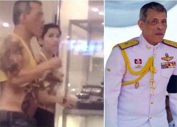"""تهديد بمقاضاة""""فيس بوك"""" بعد عرض فيديو مخلّ لملك تايلاند"""