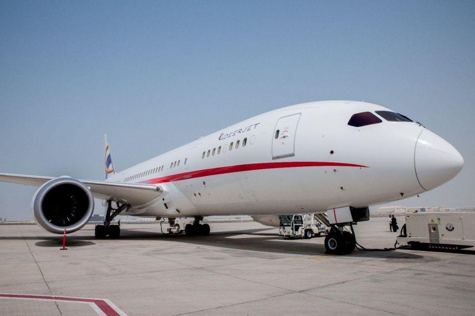 شركة دير جت تكشف عن طائرة 787 دريم جت لأول مرة في قطر