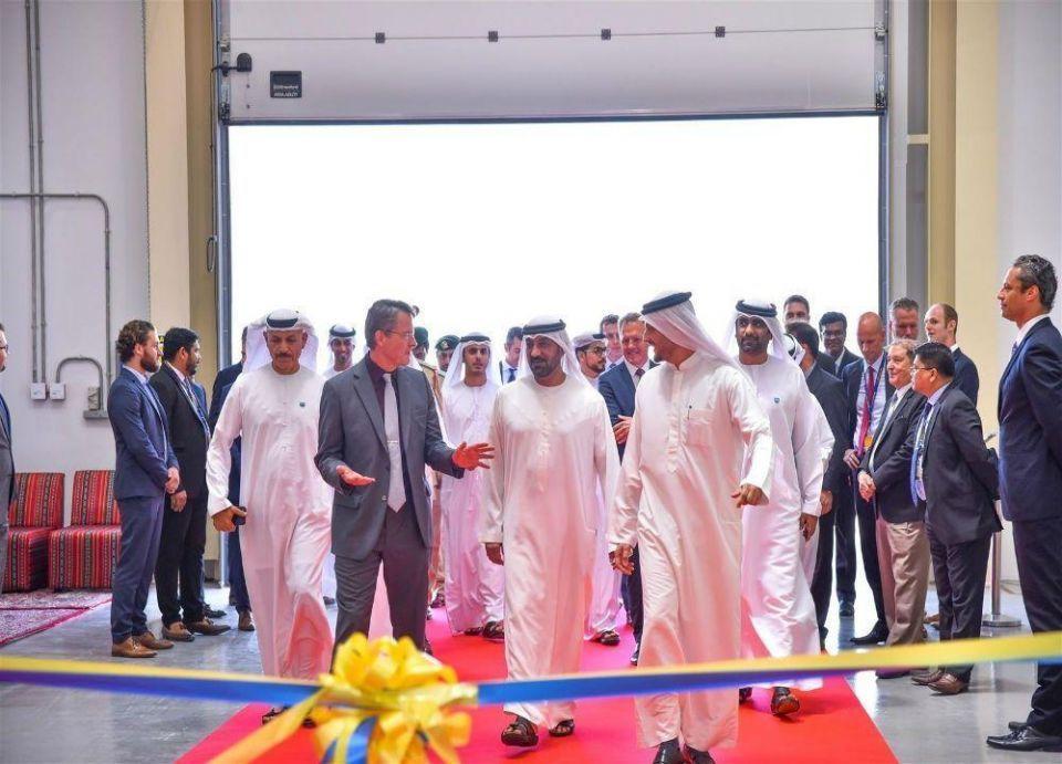 """افتتاح منشأة تشغيلية لـ """"لوفتهانزا تكنيك"""" في دبي الجنوب"""