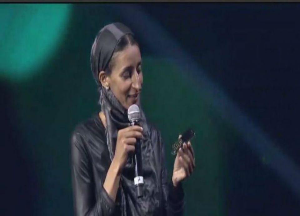 المغربية نوال الصوفي تفوز بجائزة صانع الأمل العربي