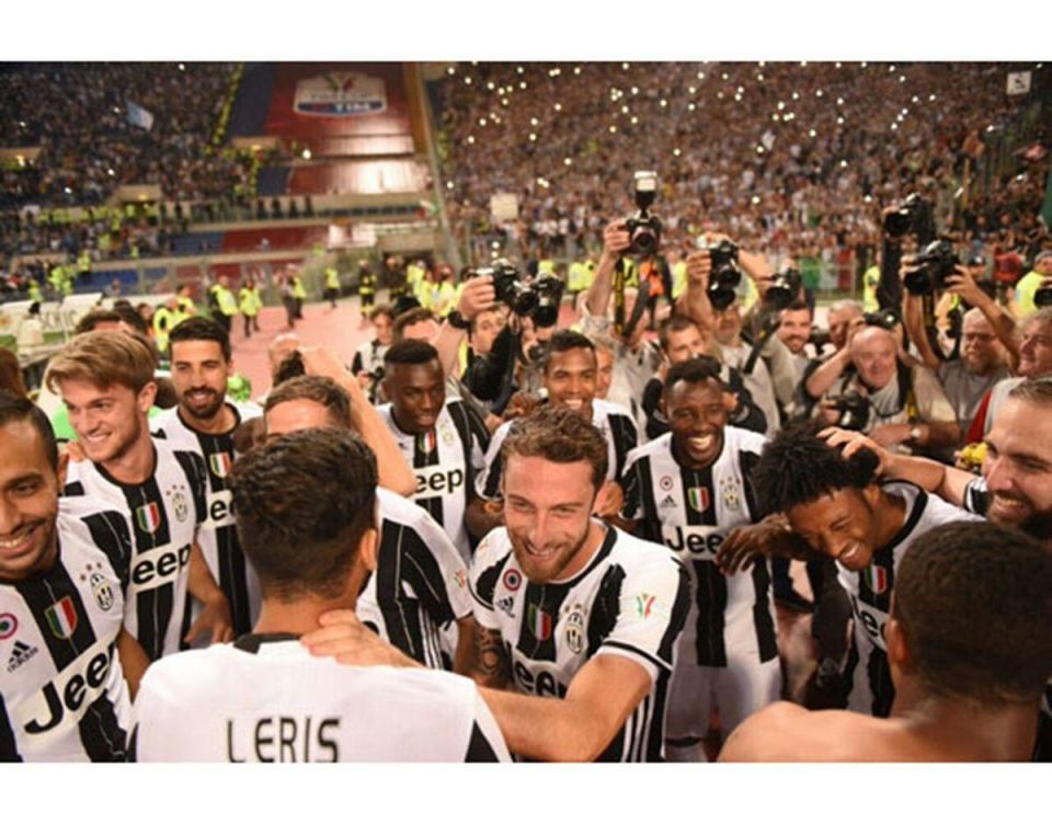 بالصور : يوفنتوس يتوج بكأس إيطاليا للمرة الثالثة على التوالي