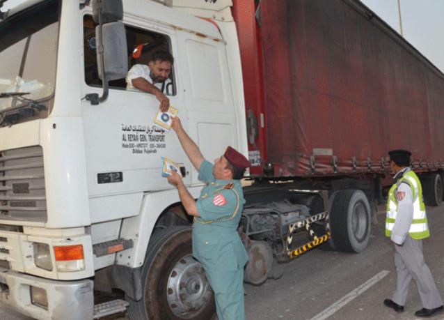 أبوظبي تمنع سير المركبات الثقيلة على الطرق خلال رمضان