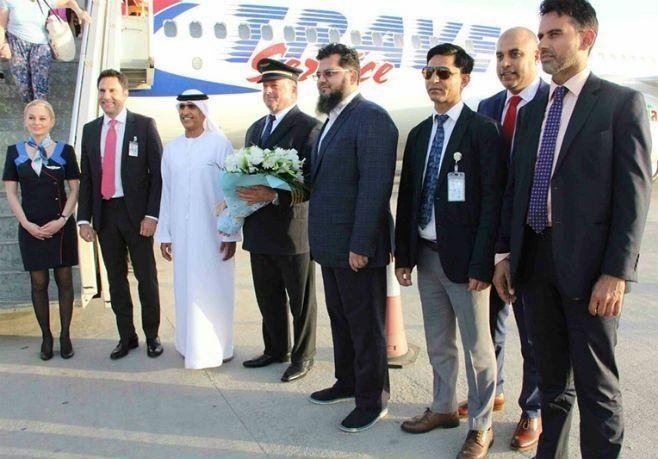 مطار رأس الخيمة الدولي يضيف طيران سمارت وينغز من براغ إلى رحلاته