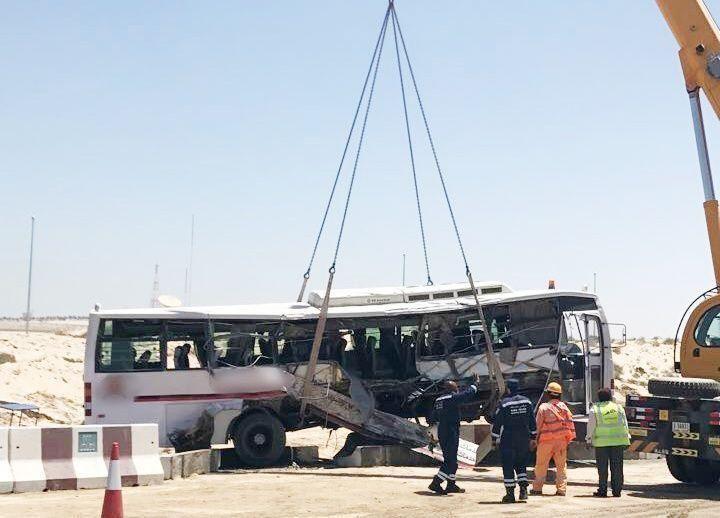 دبي: حادث مروع يودي بحياة 7 وإصابة 35