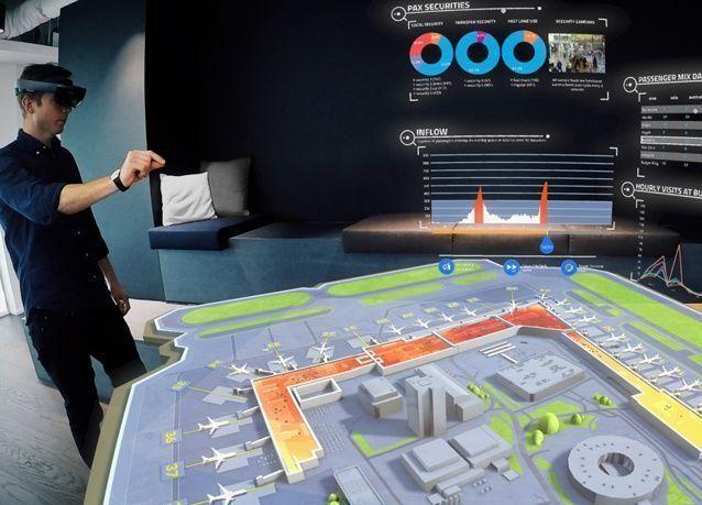 """""""سيتا"""" تستكشف عالم تكنولوجيا الواقع المختلط في قطاع النقل الجوي"""