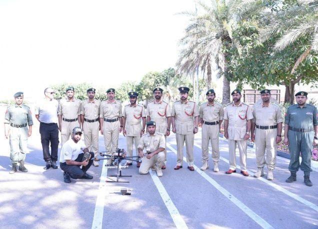 شرطة دبي تبتكر طائرة بالتحكم عن بعد لإبطال القنابل