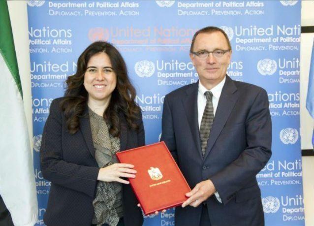 الإمارات تدعم أنشطة مركز الأمم المتحدة لمكافحة الإرهاب بـ 350 ألف دولار