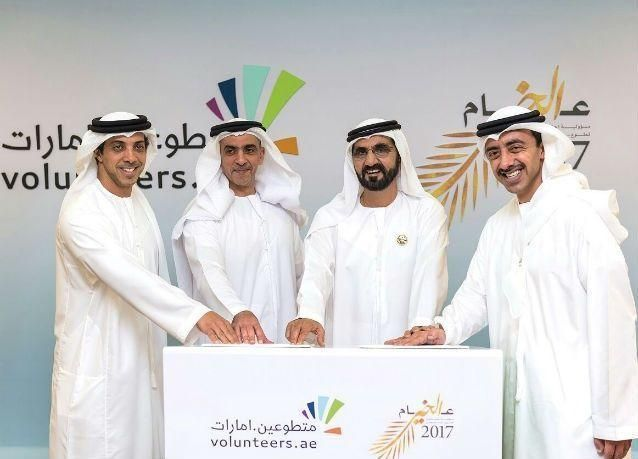 """""""متطوعين.امارات"""" تشهد تجاوبا كبيرا من أفراد مجتمع الإمارات"""