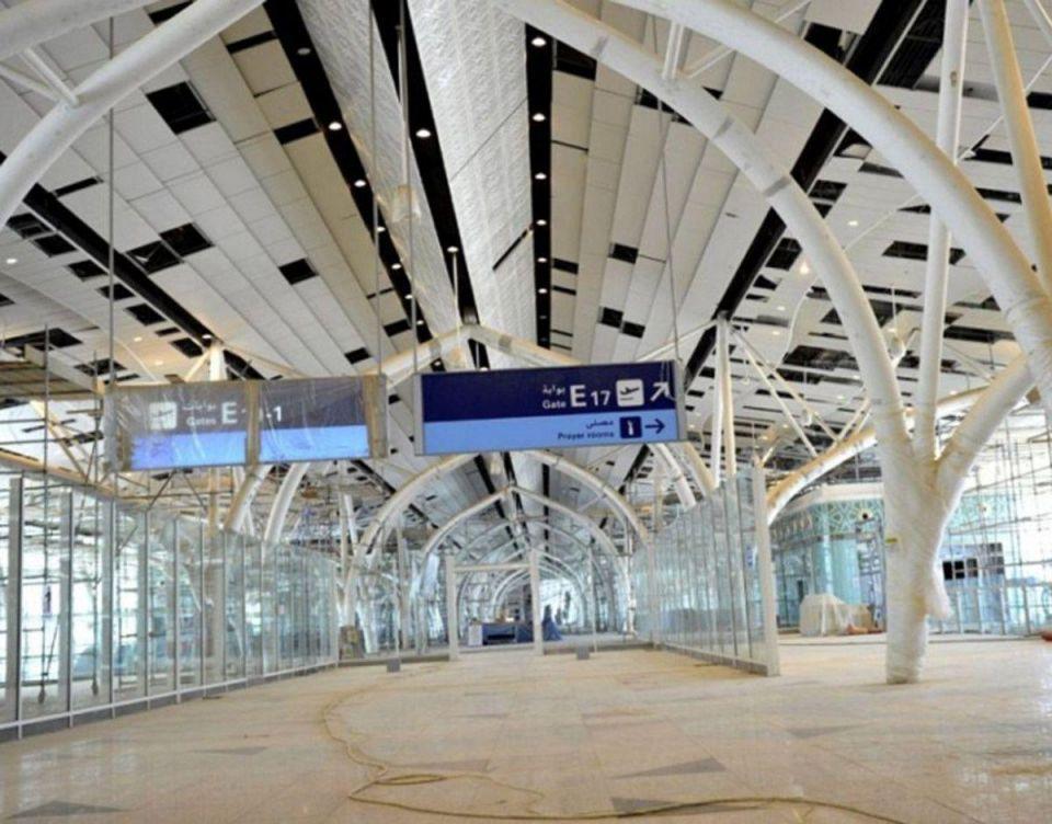 بالصور : إنجاز 88% من مشروع مطار الملك عبدالعزيز