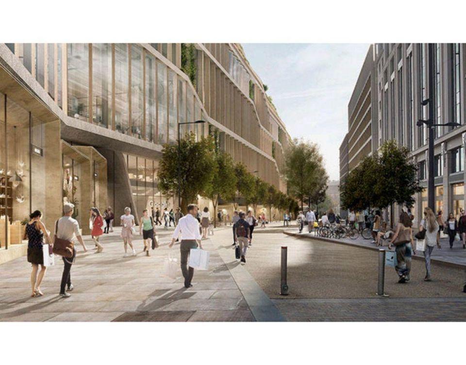 """بالصور: التصميم النهائي لمقر """"جوجل"""" الجديد في لندن"""