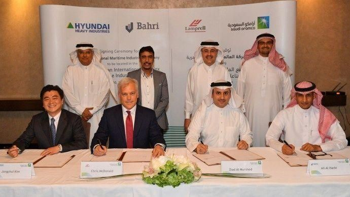 أرامكو السعودية :إنشاء أكبر مجمع بحري للصناعات البحرية في الخليج