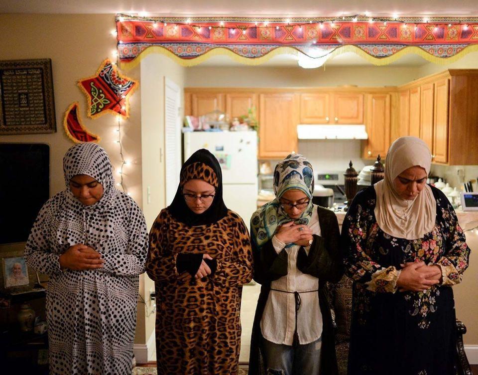 بالصور : مسلمو أمريكا يحتفلون بالأجواء الرمضانية المباركة