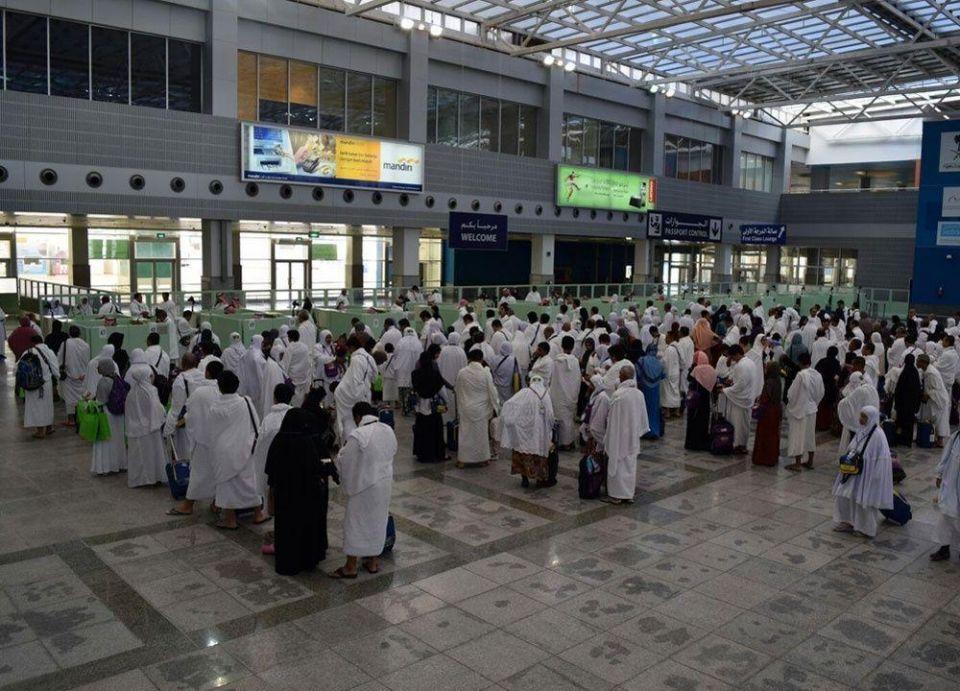 مطار جدة يستقبل ويودع 7.3 ملايين معتمر
