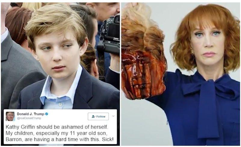 سي.إن.إن الأمريكية تنهي تعاقدها مع ممثلة لحملها مجسم رأس مقطوعة ملطخة بالدماء لترامب